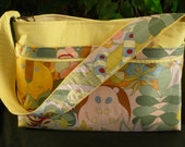 "Alexander Henry ""Jomo Jungle"" Yellow Purse Diaper Bag"