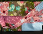 Pink Multi-fabric Adjusta...