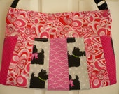 Pink Multi-color Purse Di...