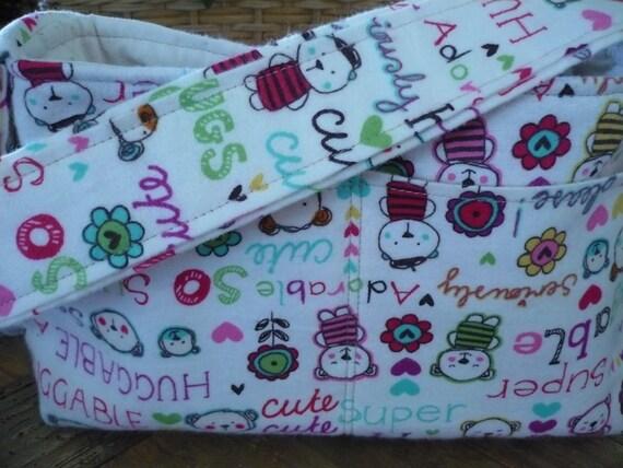 Huggable Teddy Bears Mini Diaper Bag
