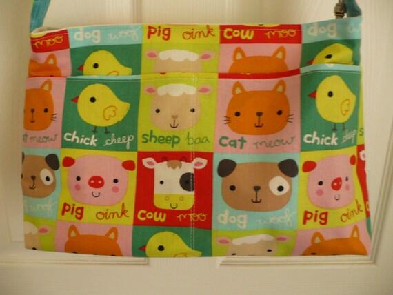 Adorable Farm Animal Purse Diaper Bag