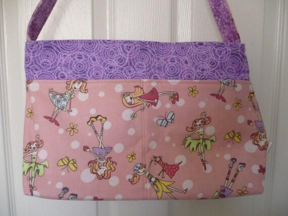 Princess Fairies Purse Diaper Bag