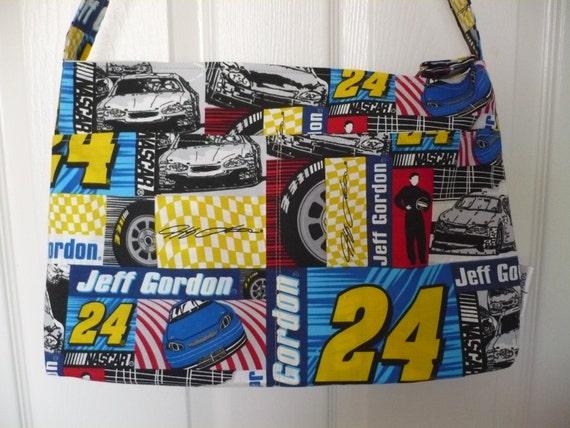 Jeff Gordon #24 Purse Diaper Bag