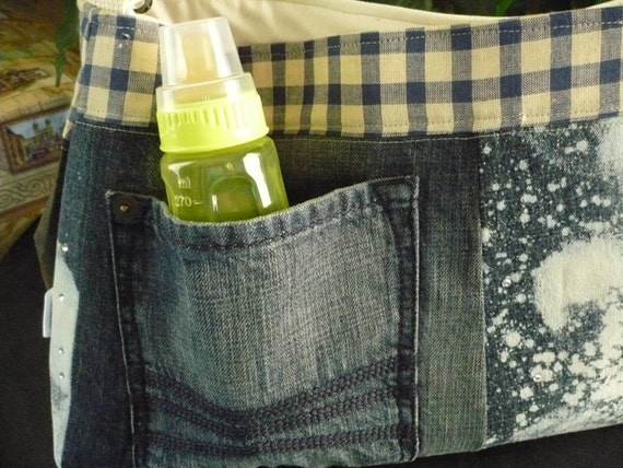 Upcycle D Ring Purse Diaper Bag