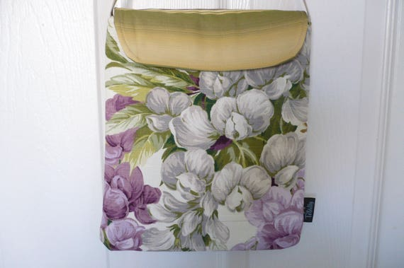 Purple Flowers Hip Bag