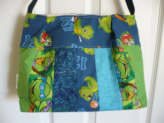 Baby Dinosaurs & Ninja Turtles Purse Diaper Bag