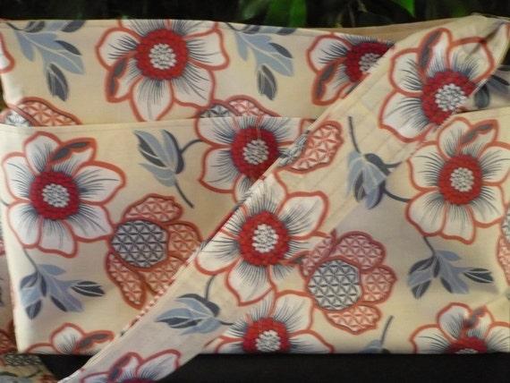 Light Hawaiian Purse Diaper Bag