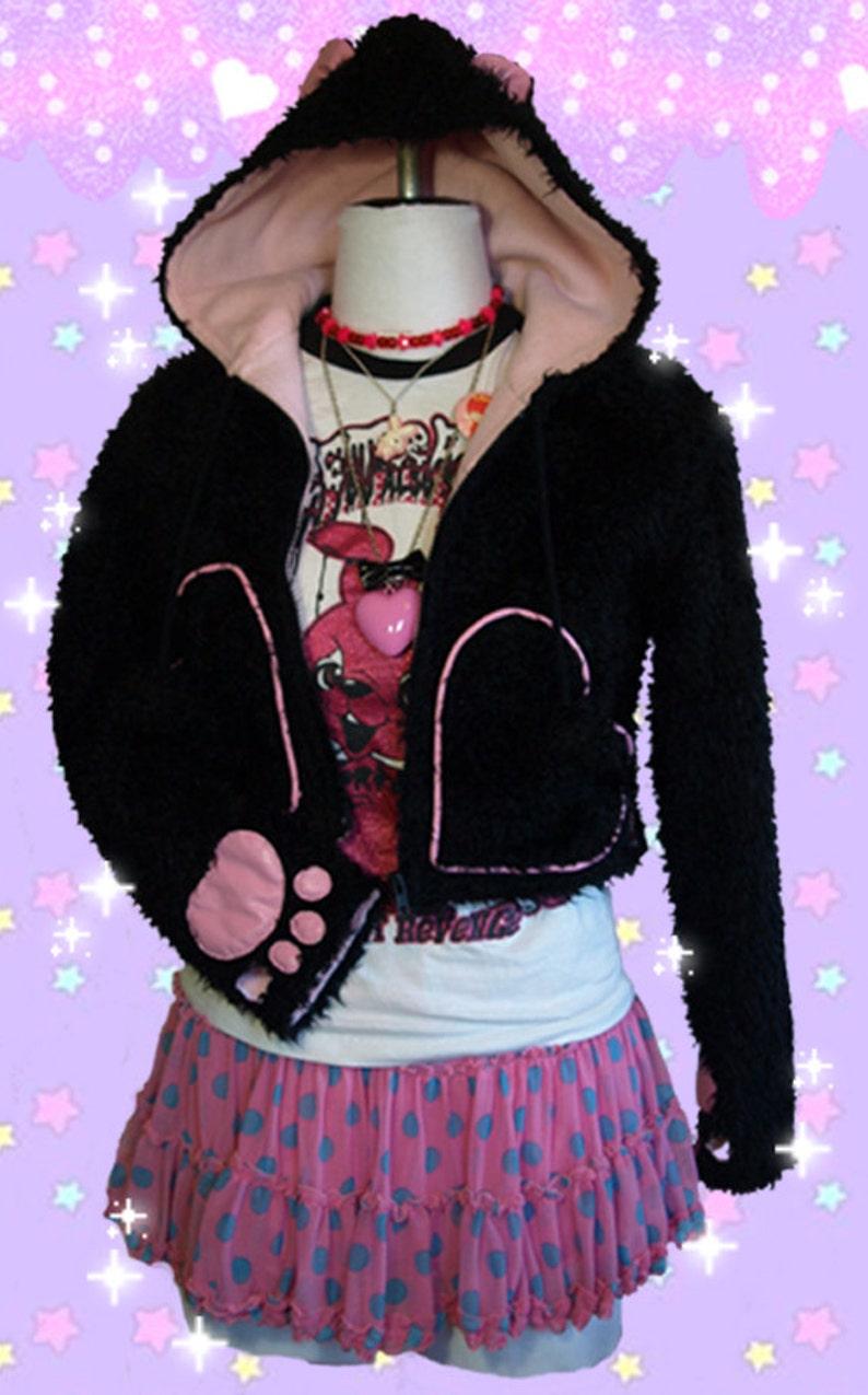Kawaii Pop Tokio Harajuku Recortada ConEtsy De Kitty Oídos Peludos 4ALqRj35