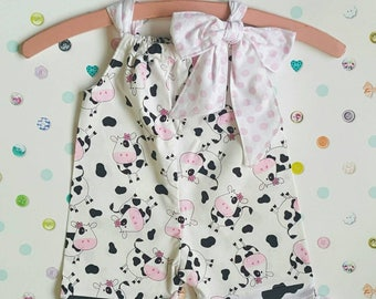 0c2558247 Romper, summer outfit, baby girl, all in one, pillowcase romper, 0-3  months, summer, baby shower, spring gift, OOAK, instock, made to order