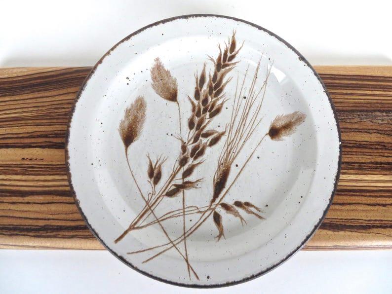 4 Midwinter  Wild Oats Bread /& Butter Plates