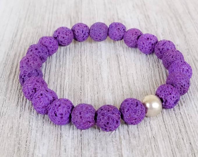 Essential Oil Diffuser Bracelets for Women, Lava Bead Bracelet, Diffusing Bracelet, Lava Stone Bracelet, Lava Aromatherapy Bracelet