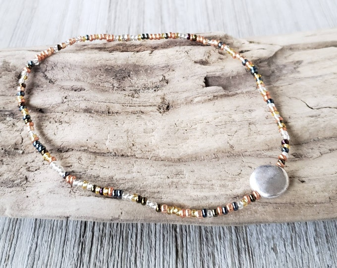 Ocean Anklet for Women, Womens Anklet, Gift for Her, Beach Anklet, Summer Anklet, Ocean Anklet, Boho Style Jewelry, Beach Vacation