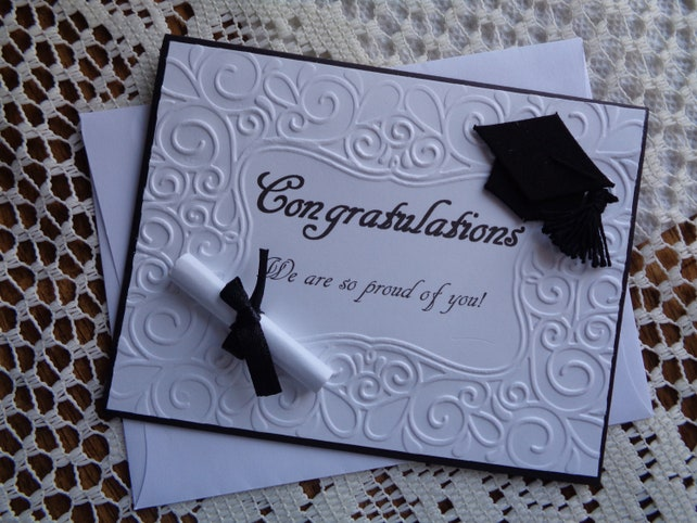 Graduation Card High School Grammer School College