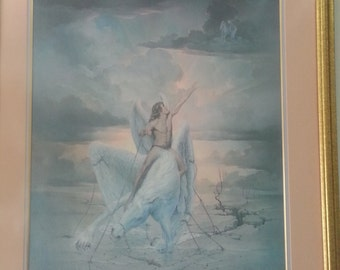 Restriction Painting Signed by Artist John Pitre
