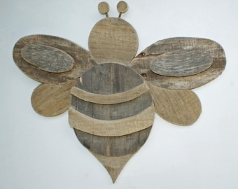 Bumble Bee - Rustic Palette Wood