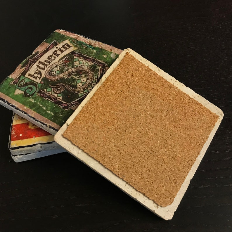 Personalized Stone Coasters Teacher Definition Teacher Gift Set of 4