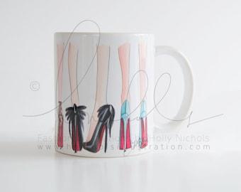 Clique (Fashion Illustration Mug)