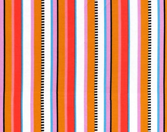 Premium quilting cotton fabric by the yard, stripe designer fabric by Paula Prass for Michael Miller. Need more fabric yardage? Just ask.
