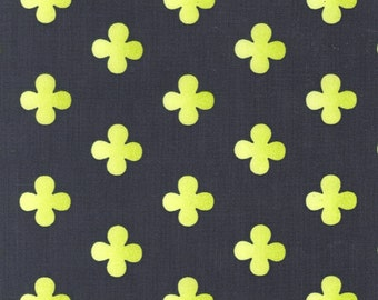 100% premium cotton fabric by the yard, quatrefoil by fabric designer Paula Prass for Michael Miller. Need more fabric yardage? Just ask.