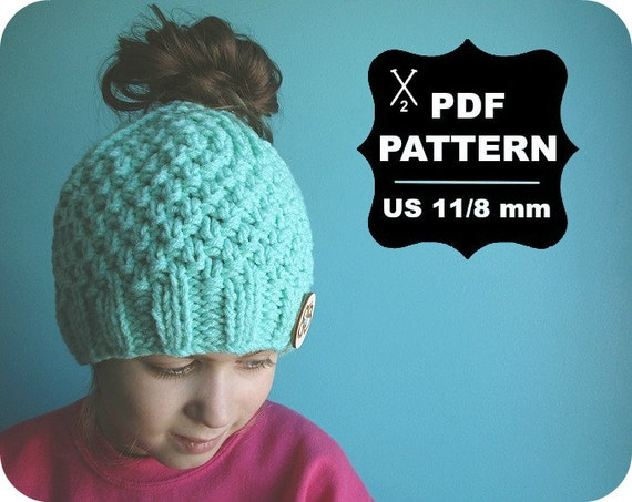 English French Two Needle Knitting Pattern Digital Download Etsy