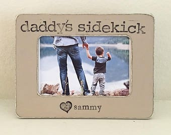Flowers in December Design Studio Dad gift Gift for dad We love daddy Personaized picture frame Father/'s Day gift for dad from child