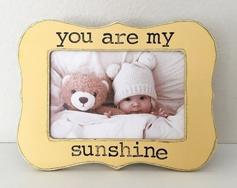 You Are My Sunshine Frame Etsy