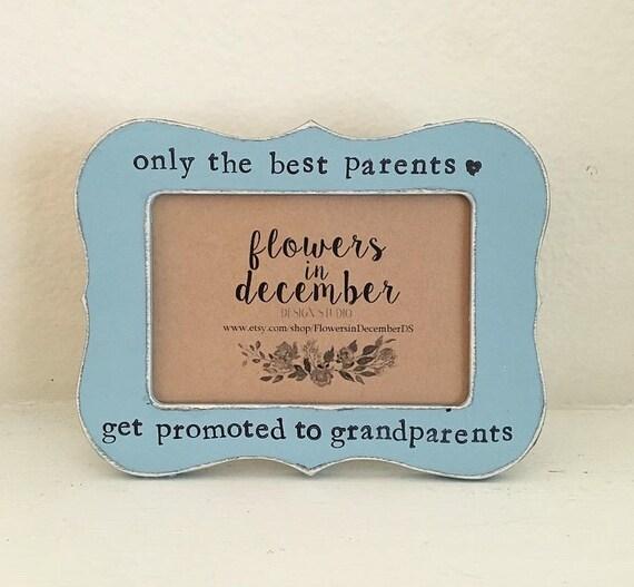 Sólo el mejor padre ser ascendidos a abuelos marco personalizado ...