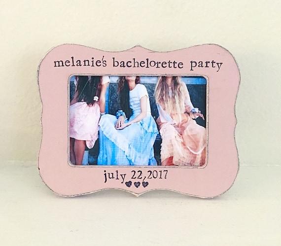 Despedida de soltera fiesta Personaized cuadro marco regalo para ...
