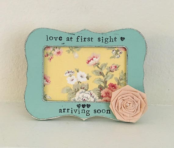 Mothers Day Gift Love At First Sight Frame Grandma Gift Etsy