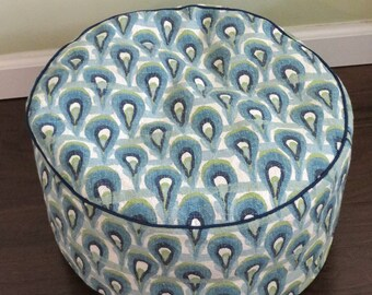 """FREE US SHIPPING- Childrens Floor Cushion or Floor Pouf 18x9"""""""