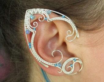 Pair of elf ear cuffs Mermaid Treasure