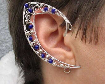 Pair Of Elf Ear Cuffs Eye The Storm Cuff Ears Etsy Template How To Make Wire