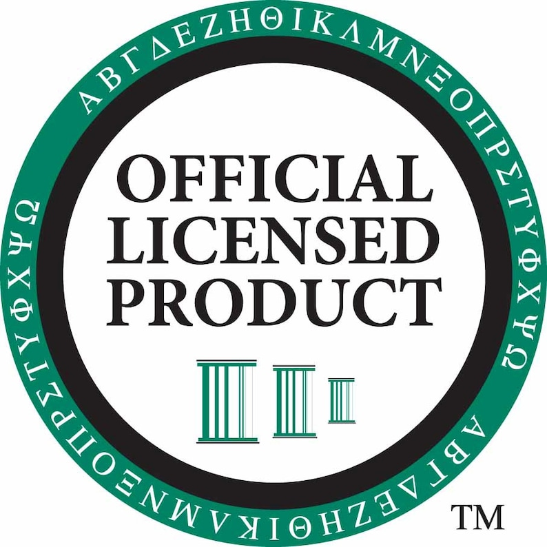/& pearl dangle lavaliere officially licensed Alpha Sigma Alpha AEA Greek Sorority Charm set mascot ladybug charm