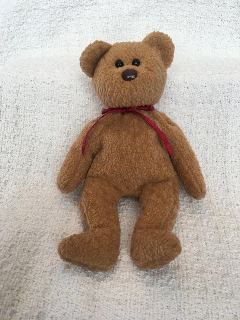 ef3c00019a9 Beanie Baby Ty Beanie Baby Curly the Bear Bear Plush Bear