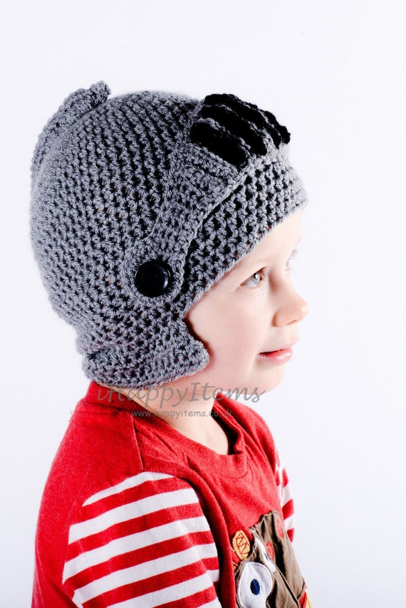 Handmade Knight Helmet Hat with Moveable Visor Kids Adults Fun Hat 088df47ddbe