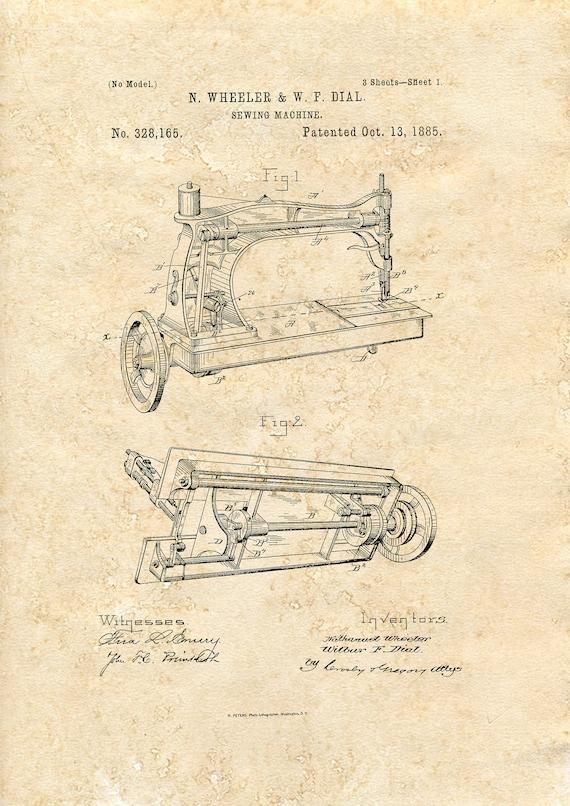 A5 historic fashion wall art Corset Design Patent art print 1890  Tinted A4