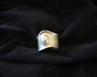 Vintage wide cuff bracelet