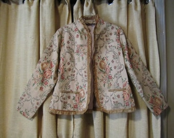 Gorgeous Brocade Jacket Vintage