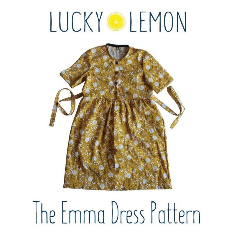 The Emma Dress PATTERN image 0