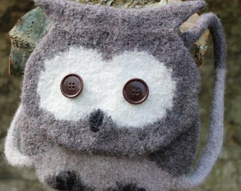 Knitting Pattern (US) - Orla Owl - Knitted, Felted Backpack - Kids Owl Bag - Washing Machine Felted - Easy Knit Pattern - INSTANT DOWNLOAD