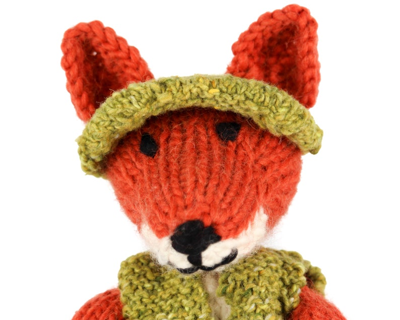 KNITTING PATTERN: Clothes for Freddie Fox Toy Instant Download UK Terms Detailed pdf Project Book Fox Toy Pattern Not included