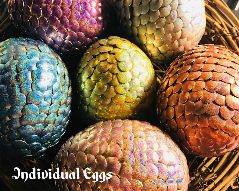 Zodiac Dragon Eggs Holographic  Individual Eggs image 1