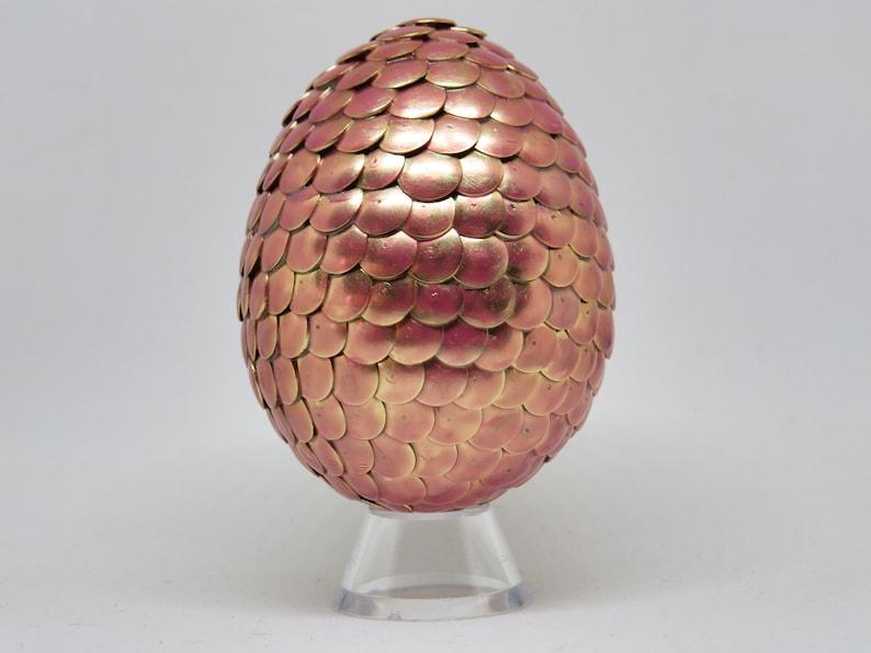 Rose Gold Dragon Egg image 0