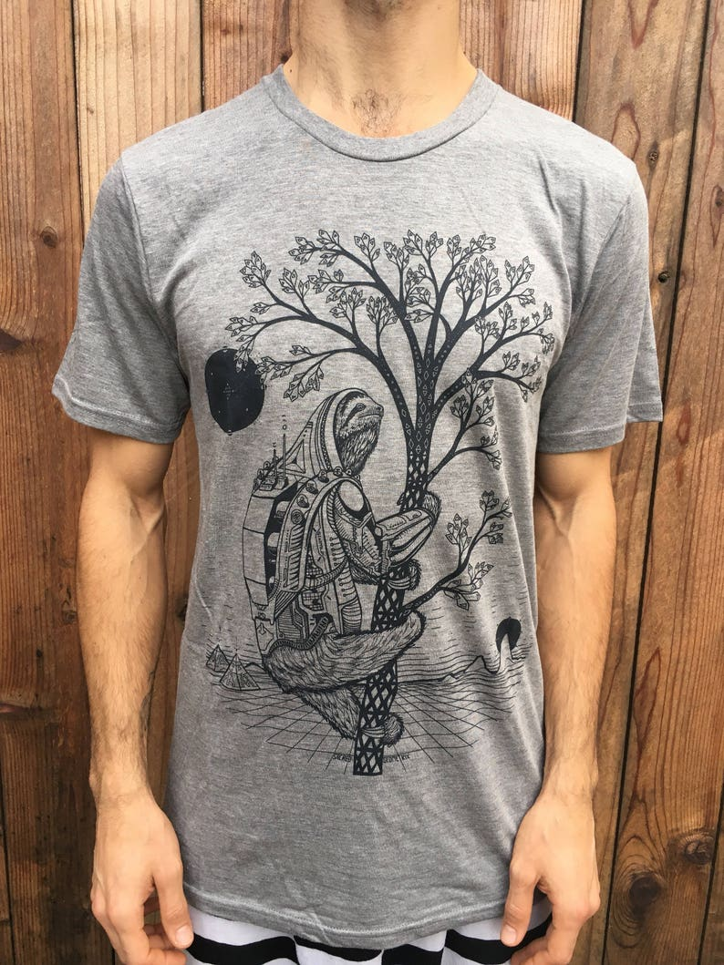 The Slothstronaut  Unisex Bamboo & Organic Cotton T Shirt / image 0