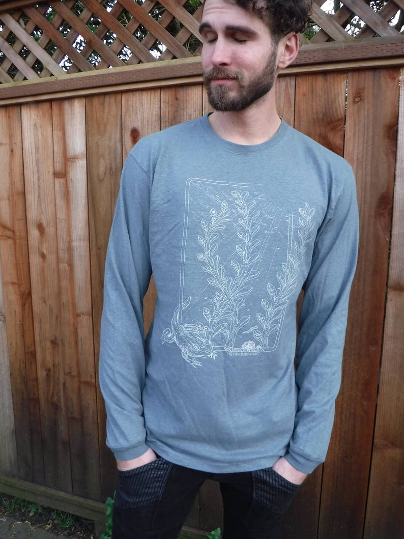 Men's Organic Cotton/Hemp Long Sleeve  Amphibians / image 0