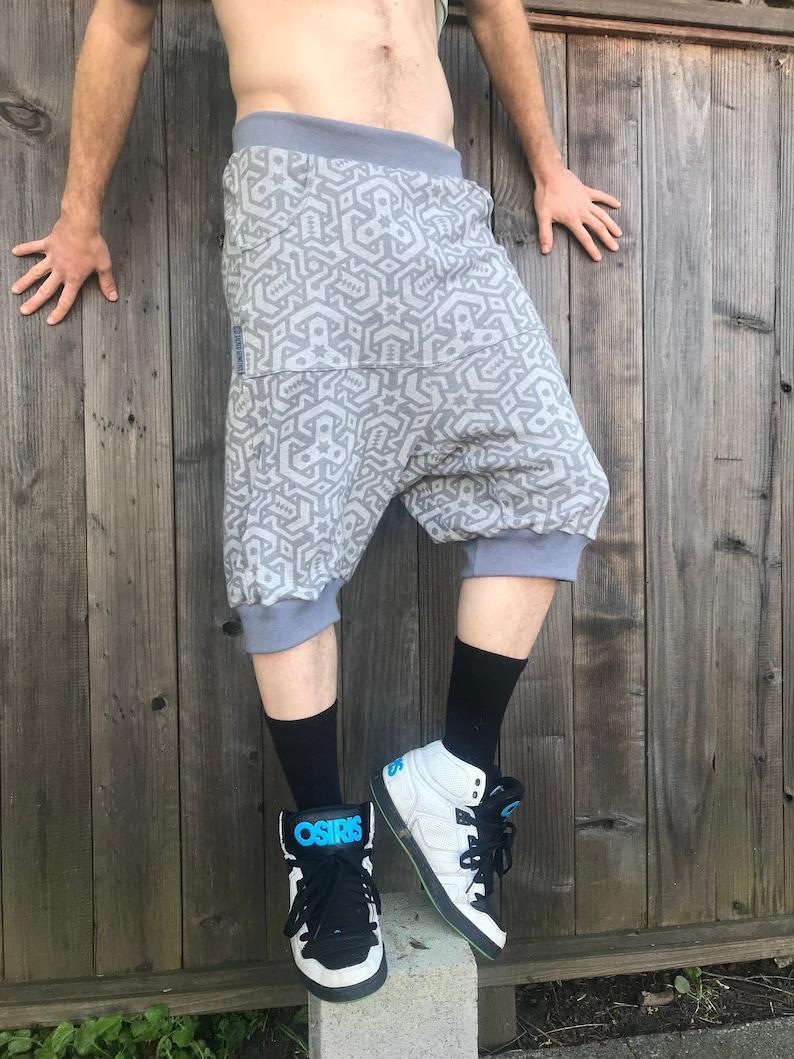 Vert Shorts  Organic Cotton Unisex Drop Crotch Joggers / image 0