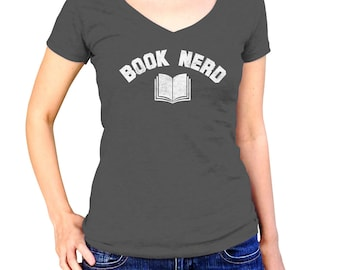Book Nerd Shirt - Book Lover Shirt - Book Nerd Shirt - Book Worm Shirt - Reader Shirt - Literary Shirt - (See SIZING CHART in Item Details)