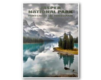 Jasper National Park Etsy