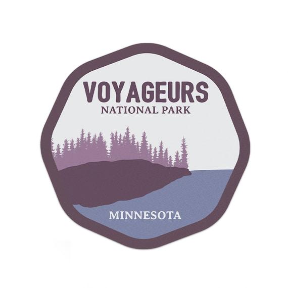 "Voyageurs National Park Sticker 3/"""