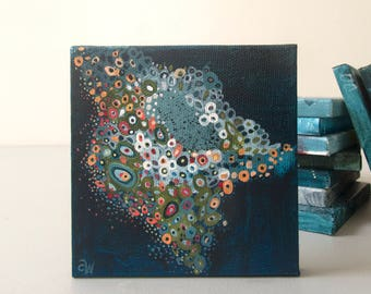 Twenty Six: Small Original Abstract Painting